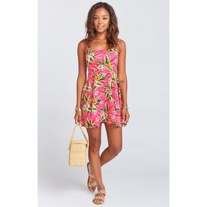 SMYM | Tropical Lace Up Dress.